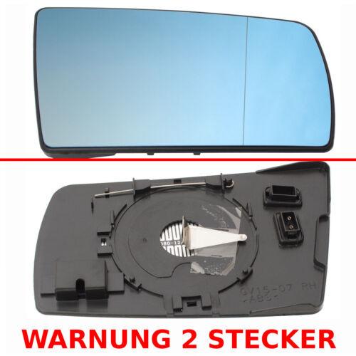 MERCEDES w202 93-01 w210 95-99 w140 95-98 vetro specchio destro riscaldabile 4 PIN