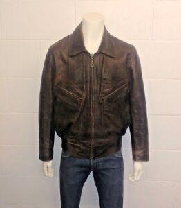 Original 100 Jacket Vintage 75631 No Chevignon Leather Stock 1WvHq