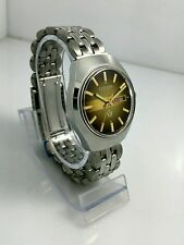 NOS Citizen vintage automatic brown dial watch new old stock, MINT 80's stock ^