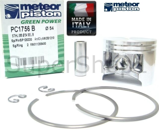 MS 660 54MM METEOR PISTON AND RINGS 11220302005 STIHL 066