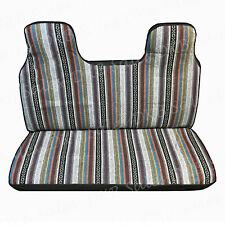 Brand New Universal Baja Inca Saddle Mexican Blanket Mini Truck Seat Cover