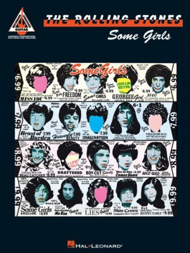 Rolling Stones Some Girls Sheet Music Guitar Tablature Book NEW 000694976