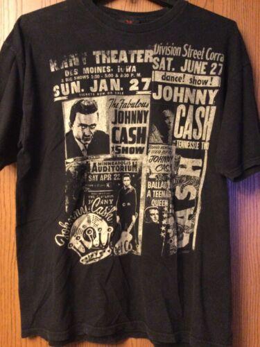 Johnny Cash - 2007 Black Shirt.  1X.