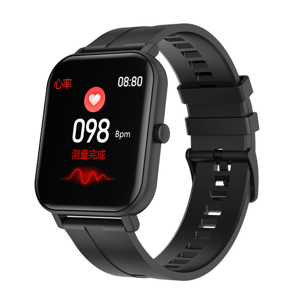 Men's Water-Resistant Smart Watch Heart Rate Monitor Sport for Samsung LG Huawei Featured for heart huawei monitor rate samsung smart sport watch