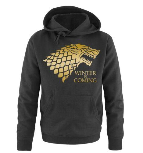 Mi hai interrotto shirts-Inverno is Coming-DELUXE-Uomo Hoodiemoda tendenza Inn