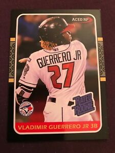 Vlad-Vladimir-Guerrero-Jr-1987-Donruss-Style-Rated-Rookie-Aceo-2018-RC-Hot