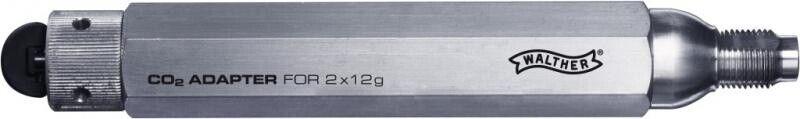 Walther 88g co2 Adattatore Capsula per 12g capsule