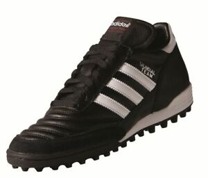 Adidas-Mundial-Team-De-FOOTBALL-chaussures-multi-cames-Chaussures-Hommes-Noir-Blanc-Rouge