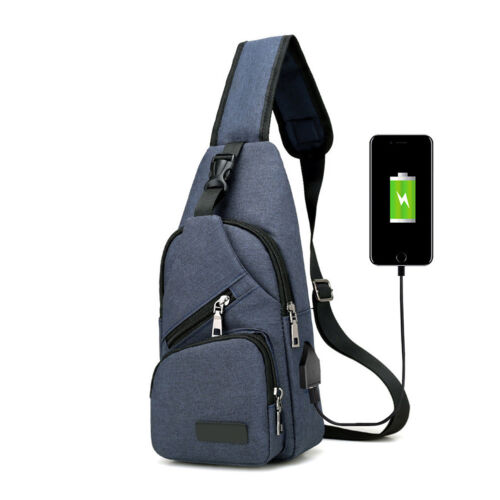 High Quality Bag USB Charge Anti Theft Security Waterproof Travel Shoulder Bag