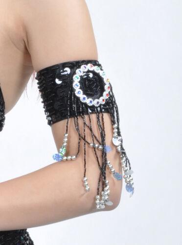 C18 Bauchtanz ein Paar Armband Arm schmuck in 12 Farben