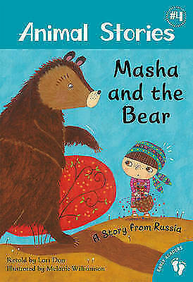 Masha and the Bear: Vol 4 (Aminal Stories)-ExLibrary