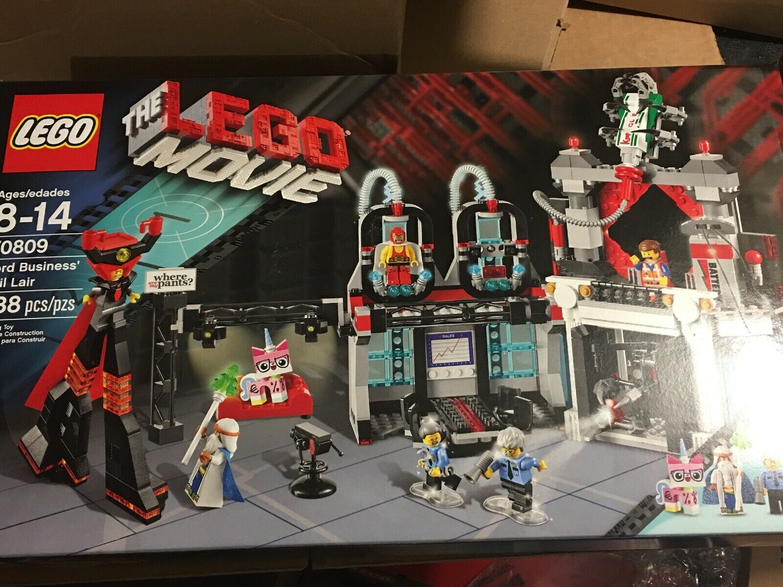 LEGO The LEGO Movie Set Lord Business' Evil Lair