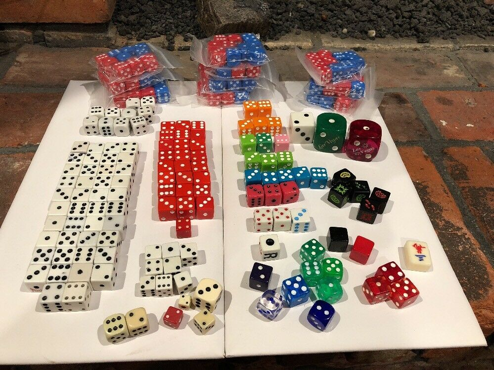 Lot of 230 Assorted Dice