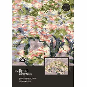DMC-British-Museum-A-Tree-in-Blossom-Counted-Cross-Stitch-Kit