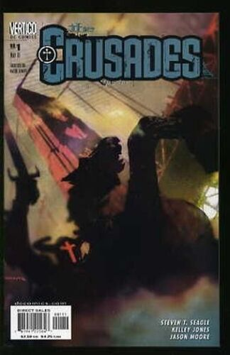 THE CRUSADES #1-20 NEAR MINT COMPLETE SET 2001