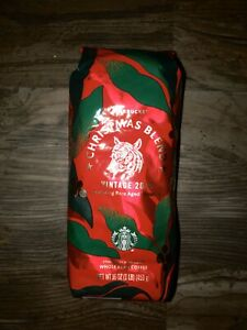 Starbucks Christmas Blend Vintage 2020 Starbucks 1 LB Whole Bean Coffee CHRISTMAS BLEND Vintage 2019 Exp
