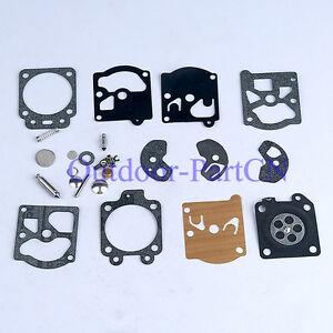 Kit Réparation Carburateur Membrane Joint pour Poulan 2050 2150 2450 2500 K10WAT