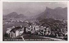 BRAZIL - Rio de Janeiro - Vista Aerea da Praia do Flamengo - Photo Postcard