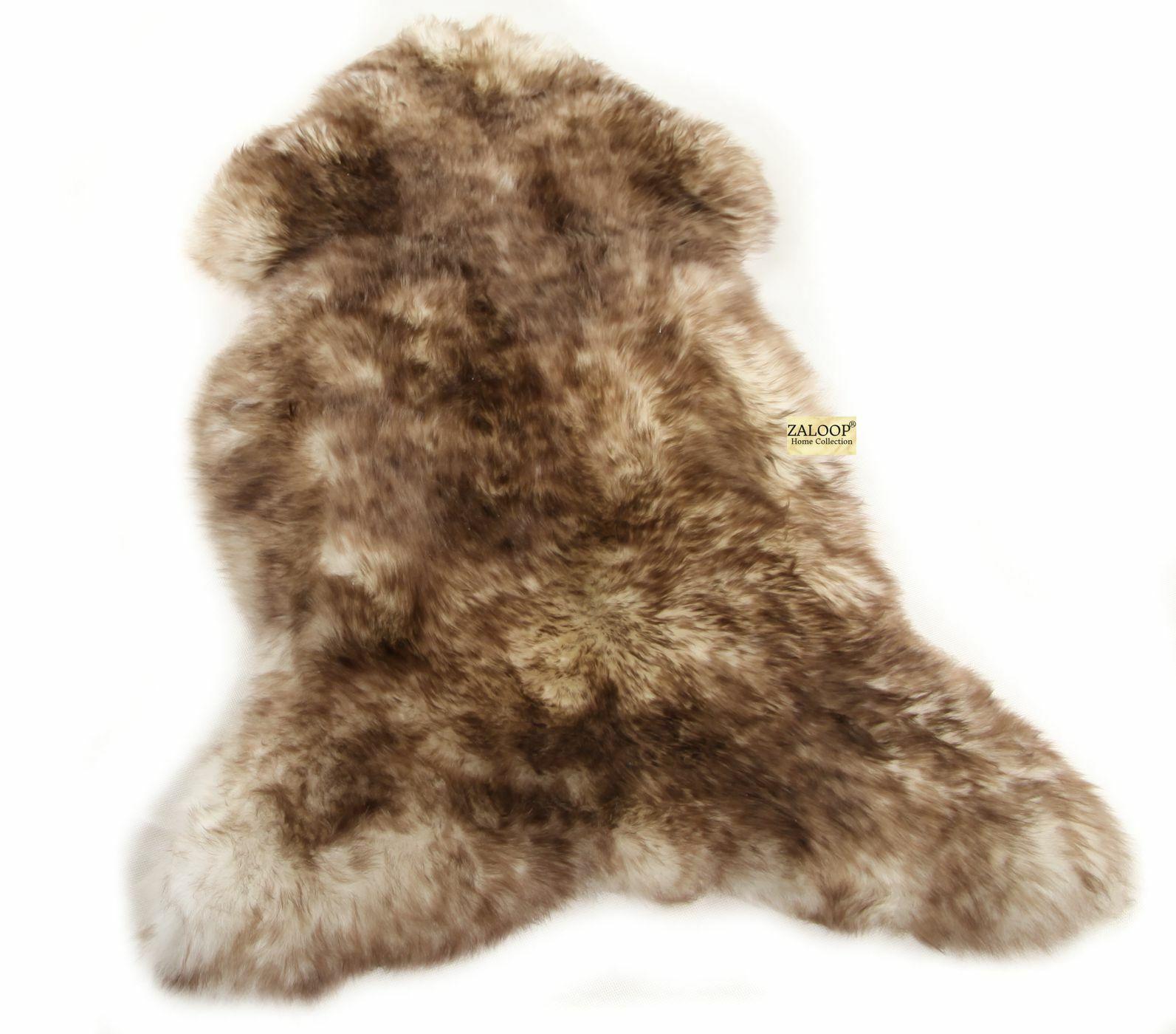 Lammfell Schaffell Schaffell Schaffell dunkel geflammt echtes Öko Fell Teppich Naturfell ökologisch   ein guter Ruf in der Welt  3edcf1