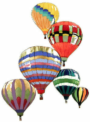 Balloons In Flight Metal Wall Art Decor Sculpture by Bovano of Cheshire #W682