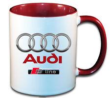 AUDI S LINE CAR ART MUG GIFT CUP S-LINE
