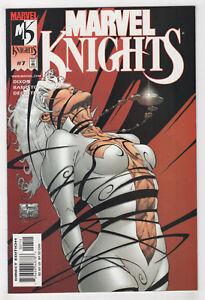 Marvel-Knights-7-2001-Dr-Strange-Punisher-Shang-Chi-Daredevil-Moon-D