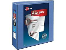 Avery Heavy Duty 3 3 Ring View Binder Periwinkle 17558 711392