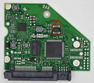 100724095 REV A Seagate PCB Circuit Board Hard Drive Logic ...