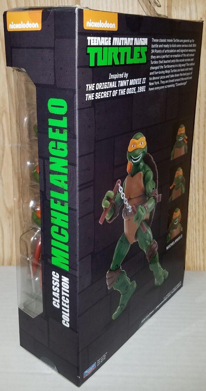 MICHELANGELO Teenage Mutant Ninja Ninja Ninja Turtles Movie II 1991 6  Classic Collection 5eca9d