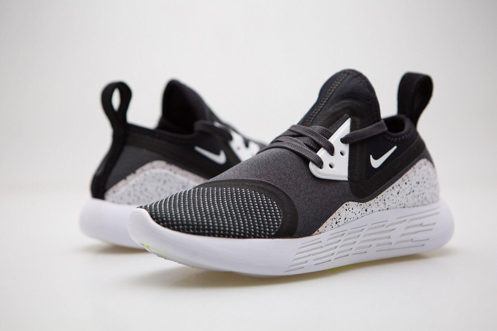 923285-999 Nike Women Lunarcharge Premium Le Black White