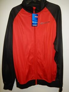 """9426-12 Mens Apparel Authentic Champion """"full Zip"""" Track Jersey Jacket New Red Men's Clothing Activewear Tops"""