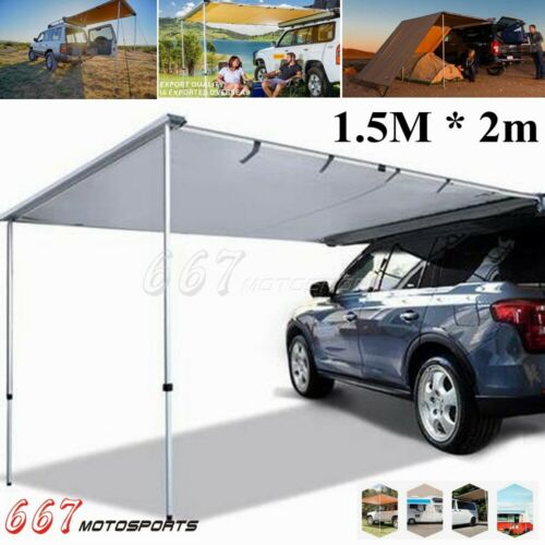 Car Side Awning Rooftop Tent Waterproof Side Tent For Outdoor Camping 1.5*2m
