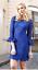 Blue Rrp Gina £269 Lace Size Bacconi Dress 8 fx8wCYwq51