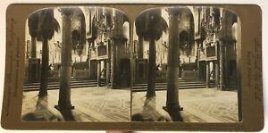 Palermo Cappella Sicilia Italia Foto Stereo P49p1n Vintage Analogica 1907