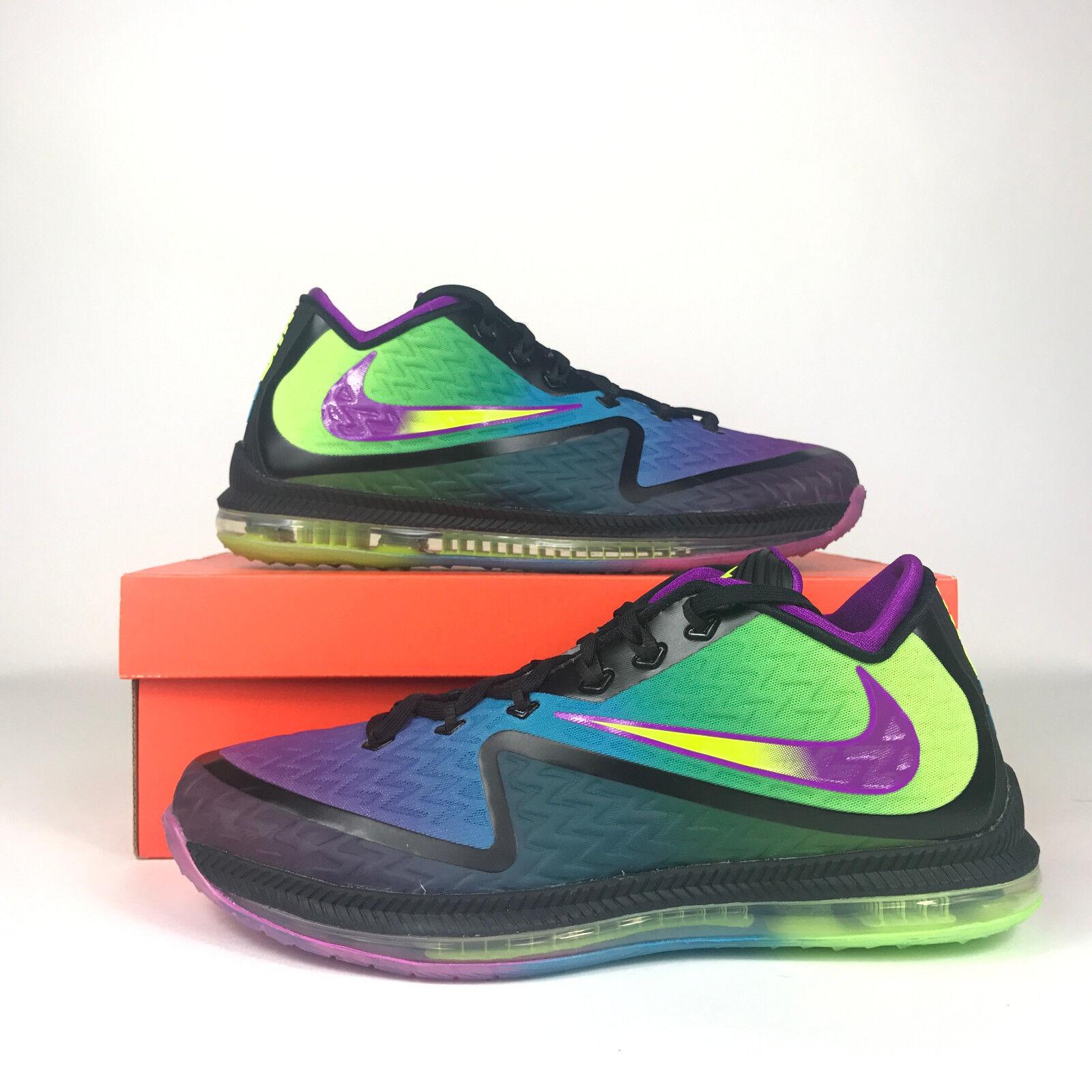 Nike Field General 2 Black Vivid Purple Volt bluee Lagoon Mens 749310 057 mult sz