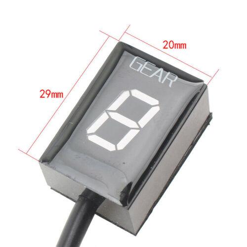 Universal LED Digital Display Indicator for Kawasaki Z1000 Ninja 300 Versys 650