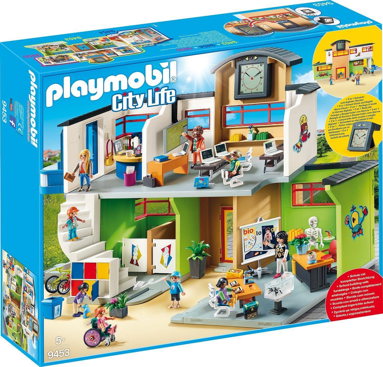 Playmobil 9453 Große Schule mit Einrichtung    NEUHEIT 2018 OVP- f13614