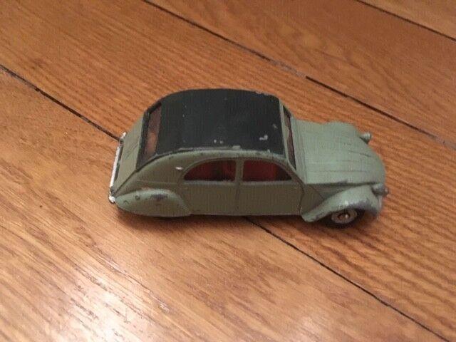 Collection-dinky  toys - 558-citroen 2 cv gris  jusqu'à 70% de réduction