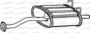 Honda CRX 1.6 ESI coupe Eh6 92-98 Silencieux D/'échappement Silencieux Box Plus Tail Pipe