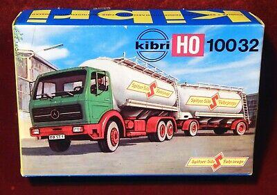 Kibri , Camion Con Rimorchio Mercedes Benz, Farina, B-10032