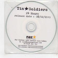 (FU182) Tin Soldiers, 24 Hours - 2010 DJ CD
