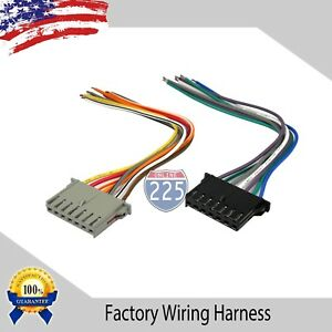 Enjoyable Car Stereo Wiring Harness Factory Radio Male Plug Chrysler Dodge Wiring Digital Resources Cettecompassionincorg
