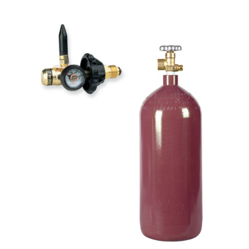 Helium Balloon Kit: New 40 cu ft Cylinder & Filler Valve Inflator Free Shipping!