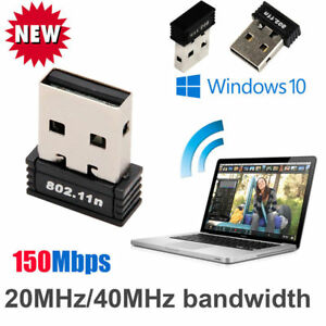 Mini USB WiFi WLAN 150Mbps Wireless Network Adapter 802.11n//g//b Dongle EF