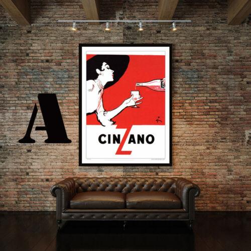 Choice of 3 Prints! Vintage Cinzano Advertising Art Print Poster Set