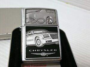 2005 zippo0 lighter (case only - without insert) - CHRYSLER 300 EMBLEM