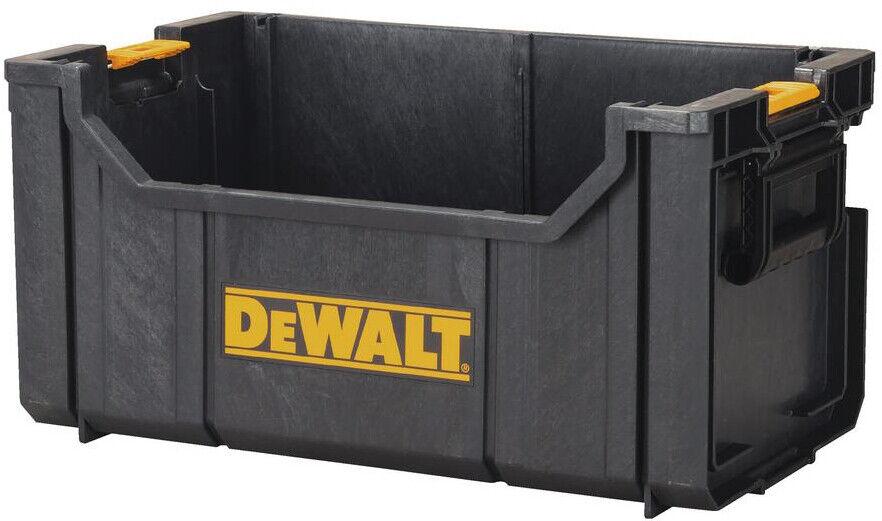 Bon DEWALT Tote Tool Box Storage Bin Parts Organizer Large Heavy Duty 22 In.  Garage