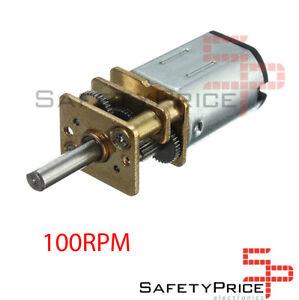 Motor-N20-6V-DC-100-rpm-Smart-car-Robot-Arduino-UNO-Robotica-Ventilador-SP
