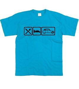 Motorholics Mens Eat Sleep Ginetta G15 T-Shirt S 5XL