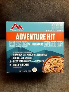 Mountain House Weekender Emergency Freeze Dried Food 6 Pack